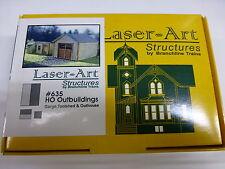 Branchline HO #635 Outbuildings Set (kit form) Laser-Art