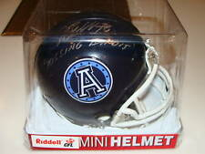 Adriano Belli Argonauts CFL Football Mini Helmet Auto