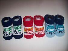 Tootsie Roll Crib Shoes Booties Variety Girls Boys Unisex 0-12 Mos Jr Candy NIB