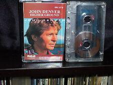 JOHN DENVER HIGHER GROUND - RARE AUSTRALIAN CASSETTE TAPE