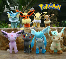 Lot 8 Pcs Nintendo Pokemon Go Eevee Characters Plush Toy Collectible Cool Doll