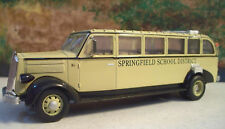 """New In Box  1/48 1936 White 706 Bus """" Springfield School District """""""