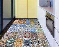 36 Tile Wall Stickers Mural Vinyl Kitchen Floor Decal Bathroom Decals 100*100CM