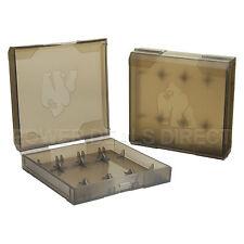 Chubby Gorilla 18650 Battery Case 4-Battery Plastic Hard Case Box 3-Pack Black
