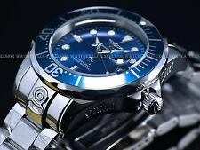 New Invicta 47mm Aegian Blue High Polished Grand Diver 300M NH35 Automatic Watch