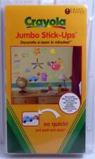 Crayola Jumbo Stick Ups Peel and Stick Wall Stickers Decals Made in the USA