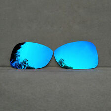 Ice Blue Mirrored Replacement Lenses for-Oakley Montefrio Sunglasses Polarized