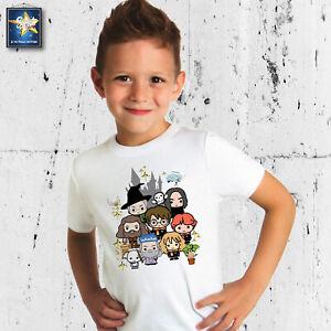 T-shirt maglietta HARRY POTTER BAMBINI BEBE' BABBANI hogwarts MAGIA IDEA REGALO