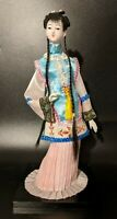 Beautiful Vintage Young Geisha Japanese Girl Doll Figure VERY LONG Hair Braids
