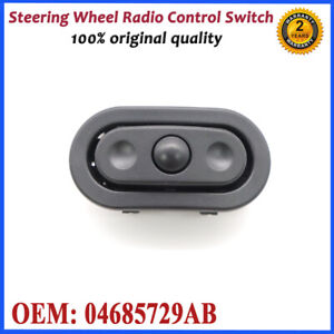 04685729AB Left Steering Wheel Radio Control Switch For Dodge Jeep Chrysler