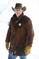 LONGMIRE - SHERIFF WALT (ROBERT TAYLOR) LONGMIRE SUEDE LEATHER COAT JACKET