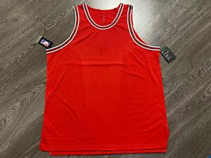 Nike AEROSWIFT NBA Chicago Bulls Blank Basketball Jersey 56 2XL AH8792-657 $200