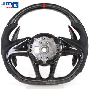 Real Carbon Fiber Steering Wheel Fit For McLaren 720 570 600LT 12C