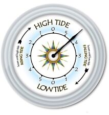 Tide Clock - Times Of High Low Tides - Compass Beach Boat Fishing Surfing - GIFT