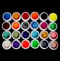 New 24 PCS Mix Colors Pearl UV Builder Gel Acrylic Nail Art Sets for Nail Tips