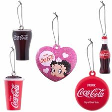 Betty Boop Coca-Cola Mini Ornaments Set of 5 Kurt Adler