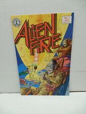 Alien Fire Kitchen Sink Press Comic Book #1 Eric Vincent Story And Art