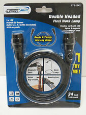 "Double Headed Flexible LED Snake Flashlight;34"" Flexi work Lamp;Brand NEW Unused"