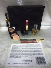 Lancome 5-Piece Make-up Set in Bag Lips, Powder, Eyes & Parfum NEW