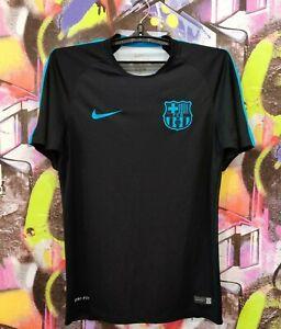 Barcelona Barca Spain Football Shirt Soccer Jersey Training Top Nike Mens size S