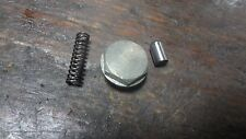 78 YAMAHA XS650 SPECIAL XS 650 YM299 ENGINE TRANSMISSION SHIFT DRUM STOP DETENT