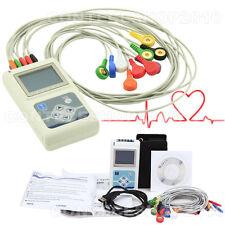Digital 12 channel ECG Holter System/Recorder 24h Analyzer Software
