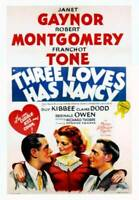OLD MOVIE PHOTO Three Loves Has Nancy Poster Robert Montgomery Janet Gaynor