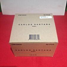 Lot Of  50 Carlos Santana Men's .05 Cologne Splash Vials Brand New On Card  case
