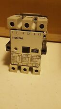 SIEMENS Contactor 3TF47 3TF4722-0AN2 80A 220V coil used