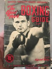 1944 A.S. Barnes Official NCAA Boxing Guide 96-Pages Original!!