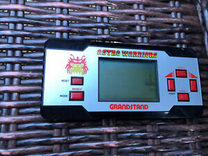 Grandstand Astro Warriors 1984 LCD Handheld Missing Battery Cover. Item Untes