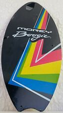 """NEW Morey Skimboard Boogie Board 2015 Wood Black Neon Colors Size Small 37"""" Yout"""