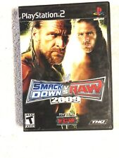 WWE Smackdown Vs Raw 2009 Featuring CM Punk + ECW Playstation 2 PS2