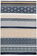 Prime Outdoor Rug Dark Blue / Taupe