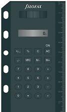Filofax Solarrechner (Mini/Pocket) in schwarz, 214005