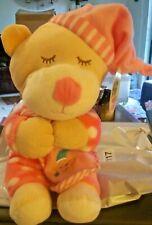 Hug fun White & Pink Prayer Bear with Sound Plush Toy Stuffed Animals Bears