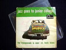 DAVE BRUBECK QUARTET~JAZZ GOES TO JUNIOR COLLEGE~RECORDED 1957~DUTCH ED.
