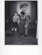 VINTAGE ORIGINAL BLACK AND WHITE PHOTO ''BUFFALO BOB'' NBC TV 1950'S