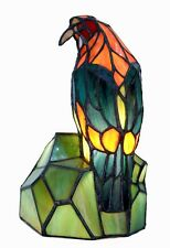Tiffany Style Parrot Table Lamp