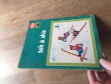 BALLON ROUGE CASTERMAN LAURENNT FERRER  HARVEC tek a skis 1977