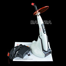 AU 1 Set Woodpecker Dental Cordless LED-B Cure Curing Light Lamp 1400mw Site