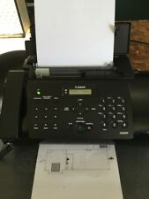 USED Canon FAX-JX210P Plain Paper Fax Printer Phone Answering Machine No3303B002