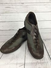 Mens TOD'S Suede Casual Lace Up Shoes - UK8.5 - Brown & Grey - Good Condition