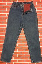 LL Bean Flannel lined 8 Tall 30 X 33 Relaxed Blue Jeans 100% cotton