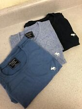 Abercrombie Fitch T-Shirts Size Medium Lot Of 3 NEW