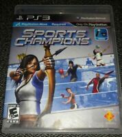 SPORTS CHAMPIONS - PS3 - COMPLETE W/MANUAL - FREE S/H (E)