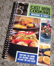 Cast Iron Cooking Cookbook 60+ recipes for camping + cook/cleaning tips 120+ pgs