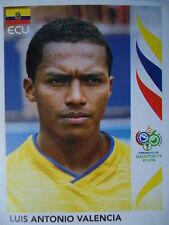 Panini 88 Luis Antonio Valencia Ecuador FIFA WM 2006 Germany
