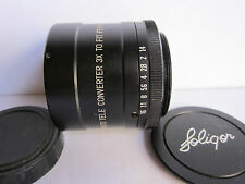 Soligor 3X Auto Tele Converter Adapter lens M42 Screw mt Pentax SLR Cameras Caps