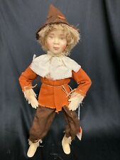 New ListingHelen Kish Scarecrow Doll Character from The Wizard of Oz 1996